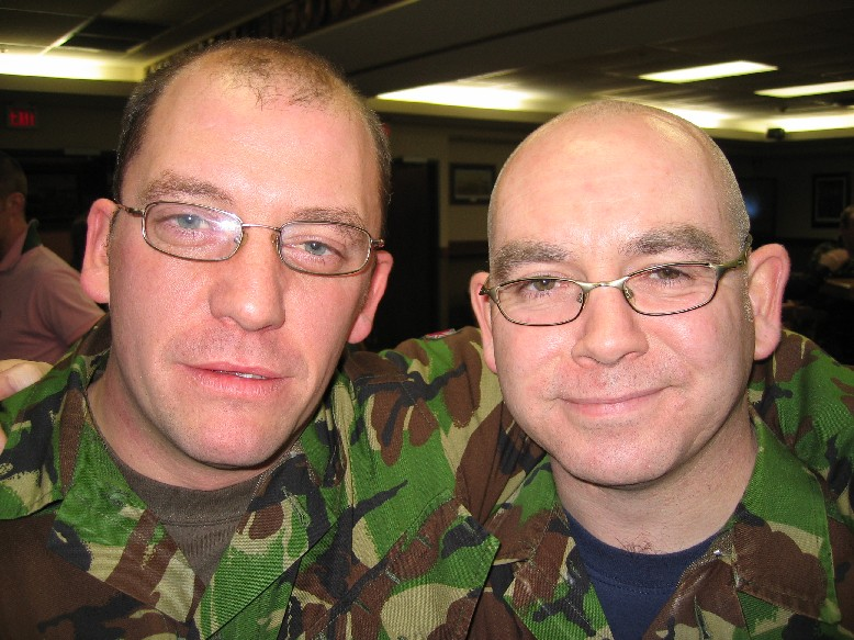 Twins - Separated at birth, Daz Gregory & Charlie 'Muffin Man' Watters - or was it the other way round?